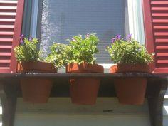 Window flower pots (box) - IKEA Hackers