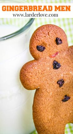 Old fashioned traditional gingerbread men recipe, a classic for Christmas! #christmascookies #gingerbreadmen #gingerbread #christmas #homebaking #cakesandbakes #larderlove How To Make Gingerbread, Gingerbread Men, Gingerbread Cookies, Christmas Cookies, British Dishes, Golden Syrup, Home Baking, Larder