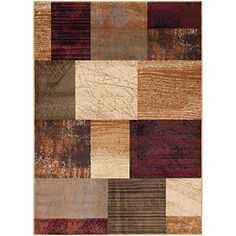 @Overstock - Bring your interior to life with this warming red polypropylene area rug, ideal for a living room or dining room. Its warming hues of rust, burgundy, gold, and ivory would complement any hardwood furniture tones and bring a room together perfectly.http://www.overstock.com/Home-Garden/Elegance-Collection-Red-Area-Rug-5-x-7/6822476/product.html?CID=214117 $71.09