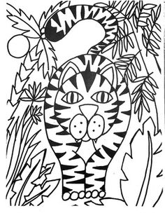 Whether you are introducing Henri Rousseau or just doing a unit on the Jungle, this lesson will be a hit with your students. Using the starter sheet, the students will be able to finish the drawing with instruction and then be able to design the jungle surrounding. Using your medium of choice, finish the artwork any way you want. The finished drawings are included in the PDF document just in case you want to use them as coloring sheets instead of a drawing project.