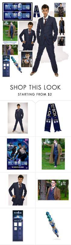 """""""David Tennant Tenth Doctor Who Suit"""" by colesandra on Polyvore featuring Post-It"""