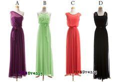 long boho style bridesmaid dresses, maxi style bridesmaid dresses, prom dress