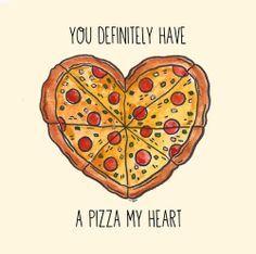 Cartoon Pizza Tumblr   Heart Pizza Tumblr Sawbear: pizza we heart it.