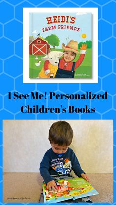 My review of a beautiful personalized children's book I received from I See Me! in exchange for a free book. via @pursueproject