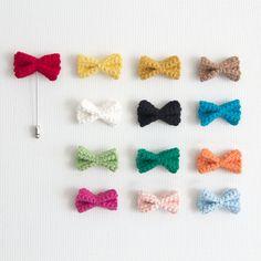 Men's Cotton Knit Crochet Boutonniere Lapel Pin Brooch Corsage Ribbon Flower #akdong97
