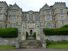 The house used for Misselthwaite Manor in The Secret Garden: Allerton castle and Fountains Hall