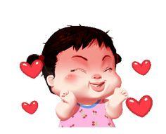 1 Emoji Images, Cute Cartoon Pictures, Cute Cartoon Girl, Cute Love Pictures, Cute Cartoon Animals, Cartoon Gifs, Animated Emoticons, Animated Gif, Funny Face Drawings