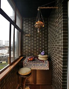 дизайн балкона