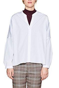 Damen BLUSE Gr.34,36,38 Hemd Oberteil Tunika Blusenshirt ecru weiß XS,S,M neu