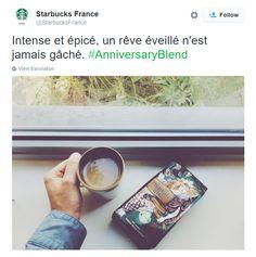 Great Twitter post from Starbucks in Paris, France / Sympathique post Twitter de Starbucks à Paris, France https://twitter.com/StarbucksFrance/status/647301261948096512