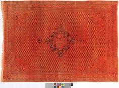 Orange Er Teppich By KISKAN PROCESS HAMBURG Orientteppich Gefrbter