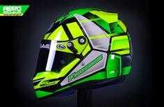 Racing Helmets Garage: Arai CK-6 R.Franzoso 2014 by Aerostyle Aerografie