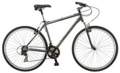 Schwinn Capital Men's Hybrid Bicycle, Medium frame size, grey in Sports & Outdoors & Outdoors > Outdoor Recreation > Cycling > Bikes > Hybrid Bikes Mountain Bikes For Sale, Best Mountain Bikes, Mountain Bike Shoes, Mountain Biking, Bmx Bikes, Cool Bikes, Schwinn Bikes, Road Bike Women, Commuter Bike