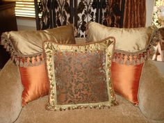 Designer Throw Pillows | WeSpecialize in Designing & Making the Most Unique Decorative Pillows!