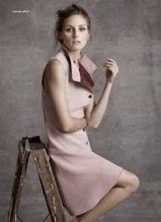 """New York Doll"" Olivia Palermo in Gucci Fall 2014 for Harper's BAZAAR Australia November 2014"