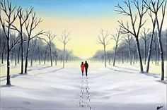 Aisha Haider - Peaceful Winter Walk
