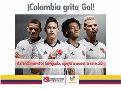 EN ARRENDAMIENTOS ENVIGADO VIVIMOS LA PASIÓN DEL FÚTBOL Y APOYAMOS A NUESTRA SELECCIÓN COLOMBIA EN ESTA COPA. ¿Cómo crees que le irá a la tricolor en esta copa?