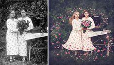 16 Fotoğrafla Modernize Edilmiş Mazi: Vintage Fotoğraflara Bir de Böyle Bakın