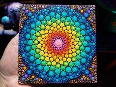 Art by Kaila Lance, Dot Mandala, Dot Painting, Mandala Art, Sacred Geometry Art, KailasCanvas.Etsy.com,Art by Kaila Lance, Dot Mandala, Dot Painting, Mandala Art, Sacred Geometry Art, Painted Stones, Mandala Stones, Meditation Stones, KailasCanvas.Etsy.com