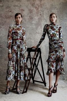 Erdem Resort 2018 Fashion Show Collection