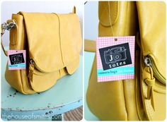 a camera bag that doesn't look like a big, bulky camera bag!  from Jo Totes (via The House of Smiths blog)