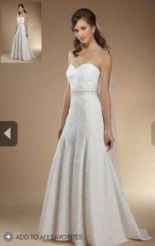 Watters & Watters Bridal #717 Carolina Wedding Dress $240