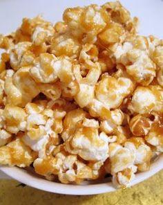 Caramelised Popcorn