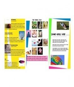 For any kind of girl (trifold, printable)