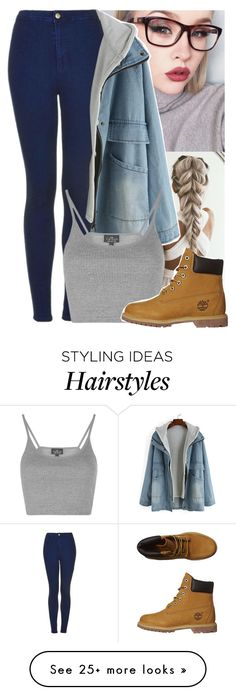 """""""The sun will rise and we will try again"""" by yazbo on Polyvore featuring Topshop and Timberland"""