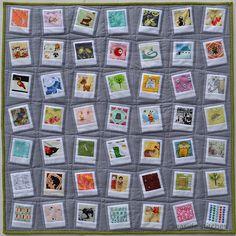 polaroid quilt