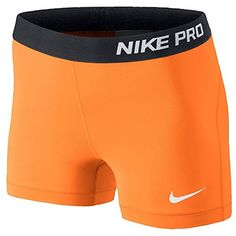 "Nike 589364 Women's 3"" Pro Core Compression Shorts (Bright Citrus/White, Large) Nike http://www.amazon.com/dp/B00KLJM4D6/ref=cm_sw_r_pi_dp_pguYvb1HTQEES"