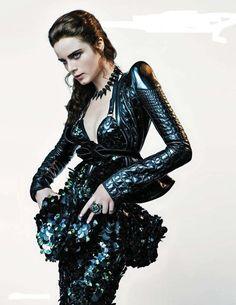 Anna de Rijk for Vogue Netherlands November 2012