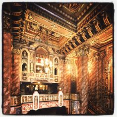 Photo #2 from the Oriental Theater. This historic theater opened in 1926 and is part of this year's Open House Chicago. www.openhousechicago.org #OHC2012