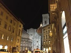 夜のフィレンツェ