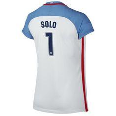 857945c4638 2016 Home Hope Solo Jersey USA Women s Soccer  1 - White Soccer Shop
