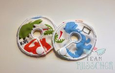 Print G-Tube Pads by Team Russcher on Etsy #dinosaur #trex #tubie #feedingtube