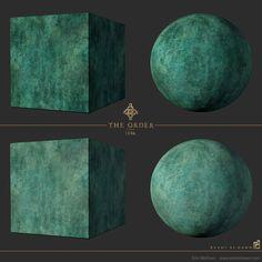 ArtStation - The Order: 1886 - Material Studies, Erin McKown