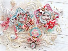 Scrapiniec inspirations on blogspot: Christmas tree decorations by Absurdistika
