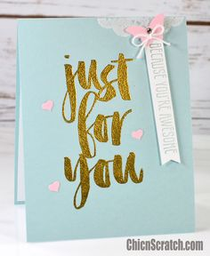 Botanicals For You Card with Stampin' Up! Demonstrator Angie Juda