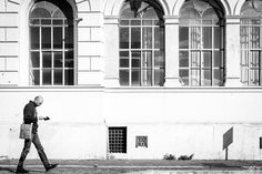 White Wall Walk by AndreaBoccone Facebook Page: AB Street Photography