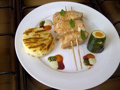 Pollo   verdure   salse   Gino D'Aquino