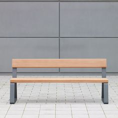 CAMPUS LEVIS BENCH - designer Exterior benches from Westeifel Werke ✓ all information ✓ high-resolution images ✓ CADs ✓ catalogues ✓ contact..