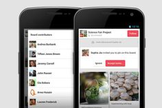 Pinterest for Android gets better for groups