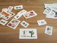 postales viajeras: sellos para adornar | milowcostblog♥