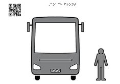 Coach, facade - Tactile Images Encyclopedia Coach Travel, Road Transport, Visual Learning, Man Standing, Learning Disabilities, In The Heights, Facade, Graphics, App