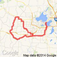 Ironman Wisconsin Bike Course 112 miles