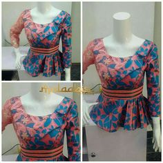 Ankara peplums are so in! Kano based fashion designer Maymunah Anka of MALAABIS_BY_MAYMZ shows more of very stylish and elegant about Ankara peplum tops. And yes to the ruffle and… African Fashion Ankara, Ghanaian Fashion, African Inspired Fashion, Latest African Fashion Dresses, African Print Fashion, Africa Fashion, African Dresses For Women, African Prints, African Women