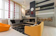 Moderne woonkamer door Za Bor Architects | Interieur inrichting