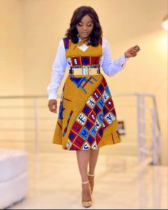 African Dresses For Kids, Latest African Fashion Dresses, African Dresses For Women, African Print Fashion, African Attire, Ankara Fashion, Ladies Fashion Dresses, African Women Fashion, Modern African Dresses
