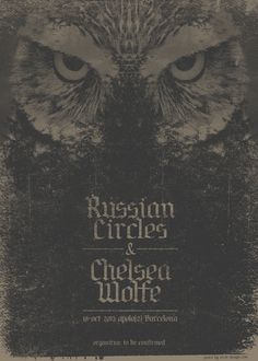 GigPosters.com - Russian Circles - Chelsea Wolfe